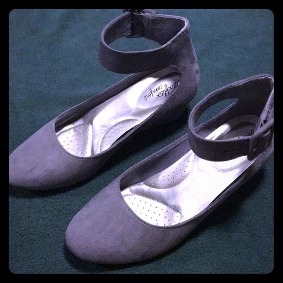 aff9547e7a4 dexflex comfort Shoes - Dexflex Comfort Grey Flats